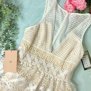 BHLDN Wedding Gown Sleeveless V-Neckline Dress